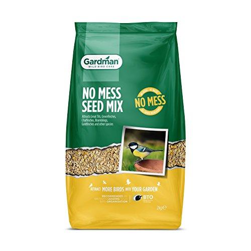 Gardman A06530 Pas de mélange de graines pour Oiseaux Multicolores, 1 kg 2 Kg Naturel