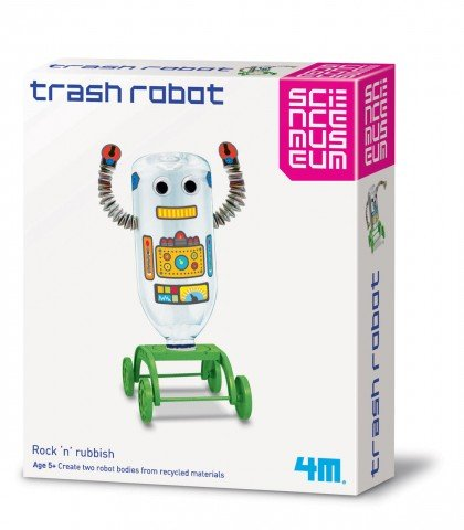 Great Gizmos Science Museum Trash Roboter - Art Science Museum