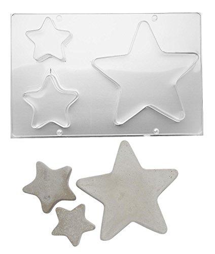 efco Gießform Sterne, 3 Motive
