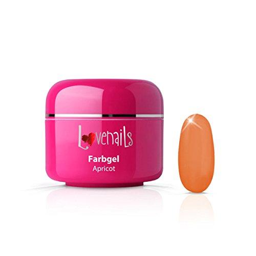 Love Nails Farbgel Abricot 5 ml