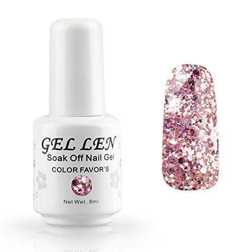 gel-nail-polish-uv-led-soak-off-gel-polish-glitter-300-colors-collection-gel-polish-8ml-gellen-brand