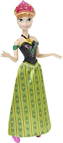 Mattel Disney Princess CKK88 - Modepuppenzubehör - Die Eiskönigin Singende Anna
