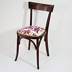Chaise Bistrot Otomi By Vibamos Broderie A La Main Artisanat