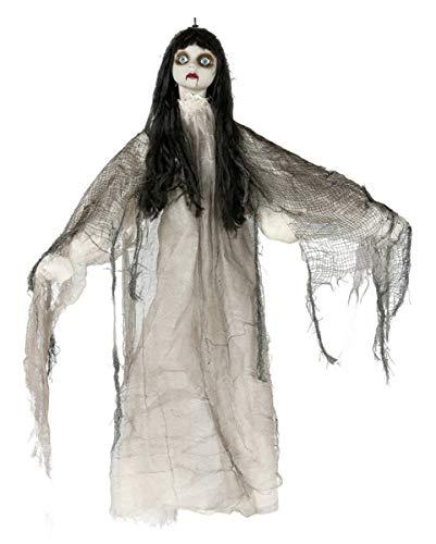 Horror-Shop Creepy Doll Gothic Puppe Hängefigur für Halloween 90cm (Halloween Für Doll-gesicht Creepy)