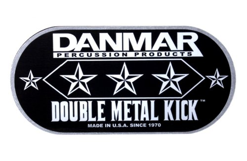 Danmar DA 210DKF Flame Design Double Bass Drum Impact Pad