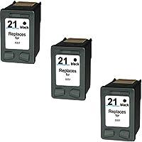 Prestige Cartridge HP 21XL Cartucce d'Inchiostro Compatibile per Stampanti HP DeskJet Serie, 3 Pezzi, Nero - Confronta prezzi