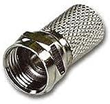 5 X F PLUG CONNECTOR RG6 SATELLITE SKY VIRGIN TV AERIAL CABLE SCREW TWIST COAX