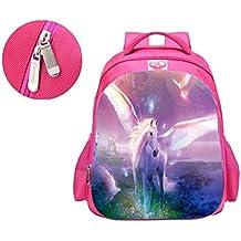 Unicorn School Mochilas, Fantasy Fashion Unicorn Rainbow Bolsas de Estudiante para niñas, Unicorn Gifts