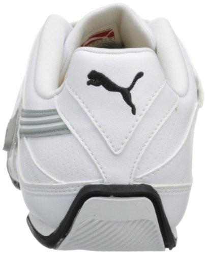 Puma Attaq Hommes Synthétique Baskets White-Limestone Gray