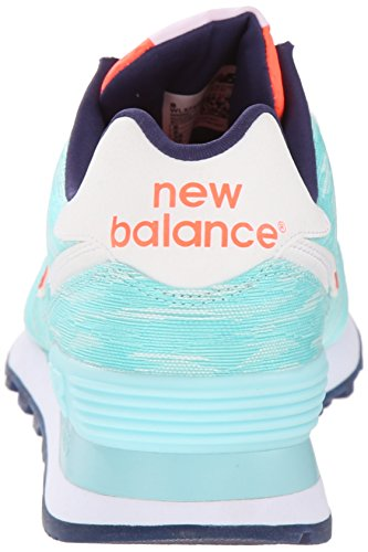 New Balance WL 574 B SIB Light Green White Bleu