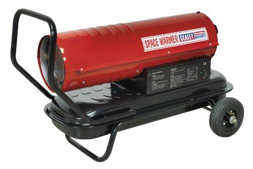 Preisvergleich Produktbild SEALEY ab70E Platz Wärmer ® Paraffin,  Kerosin und Diesel Heizung 70, 000btu / HR mit Rädern