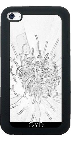 SilikonHülle für Ipod Touch 4 - Strauchrosen Sketchbw by pASob