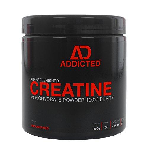 Creapure-CREATINE-Monohydrat-Pulver-von-ADDICTED--Kreatinmonohydrat-fr-ein-hrteres-Training-schnell-Muskeln-aufbauen--Kreatin-Creatin-zum-Muskelaufbau-durch-ATP-Adenosintriphosphat