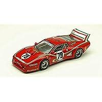 FERRARI 512 BB N.79 ACCIDENT Le Mans 1980 DINI-VIOLATI-MICANGELI 1:43 Best Model Auto Competizione modello modellino die cast