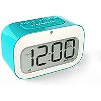 MEILI Elektronische Uhr Nachttisch leuchtende Uhr Kinder kreative Ausdruck schöne stumm kleine Wecker preisvergleich bei billige-tabletten.eu