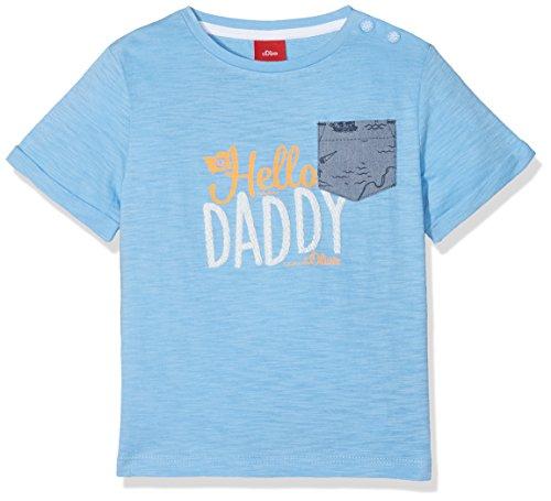 s.Oliver Baby-Jungen T-Shirt 65.804.32.5142, Blau (Light Blue 5316), 86