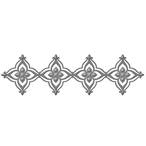 Unbekannt Spellbinders Shapeabilities stirbt Renaissance Bordüre 2Streifen, Acryl, mehrfarbig (Renaissance-streifen)