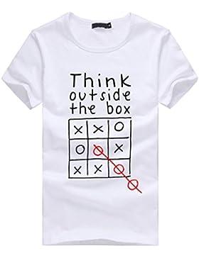 T Shirt, ASHOP T-Shirt a Maniche Corte T Shirt Donna Abbigliamento Donna T-Shirt Magliette In Camicetta di Cotone...