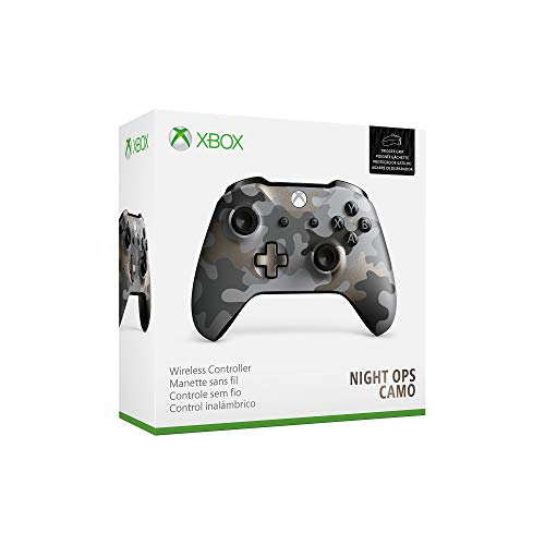 Microsoft Xbox Wireless Controller, Night Ops Camo, Special Edition