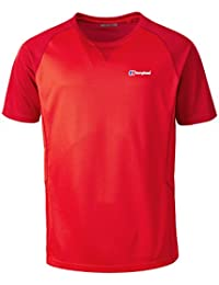 Berghaus Men's Tech 2.0 Short Sleeve Crew Neck Shortsleeve T-Shirt