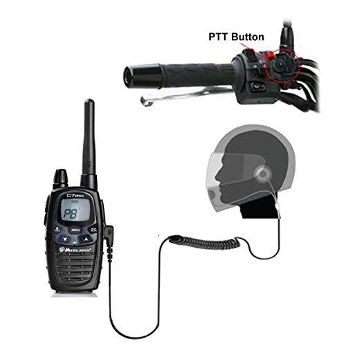 Fallstudien HM-900 Close Gesicht Motorrad Intercom Headset für Midland Radio G5 G6 G7 G7E G8 G8E G9 G12 M99 HP250 2 A Scala Rider Intercom