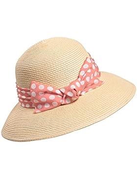 femminile pieghevole paglietta estate spiaggia cappello Protezione solare cappello di Sun ( Colore : 1 )