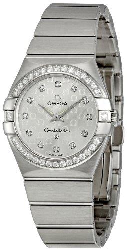 Omega 123.15.27.60.52.001 – Reloj (Reloj de pulsera, Femenino, Acero inoxidable, Acero inoxidable, Acero inoxidable, Acero inoxidable)