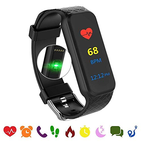 endubro - Braccialetto Fitness | Fitness Tracker | Fitness Watch con Display OLED e Bluetooth 4.0 per Android e iOS (Beat)