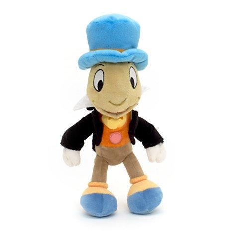 Peluche Pinocchio - Disney Pinocchio 24cm Jimmy Cricket souple en