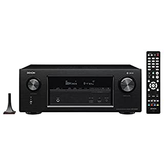 Denon AVR-X3400H 7.2 Channel 4K Ultra HD Network AV Receiver with HEOS - Black