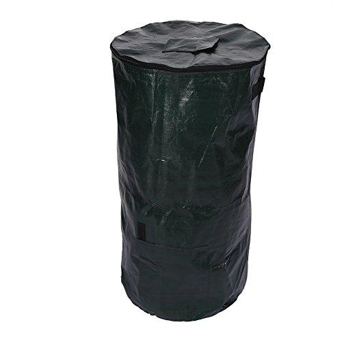 Organische Abfälle Küche Garden Yard Kompost Tasche umweltfreundliche PE Reinigungstuch Übertopf, 45*80 cm