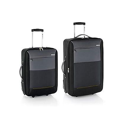 Gabol juego de 2 maletas Reims cabina y mediana en Polyester