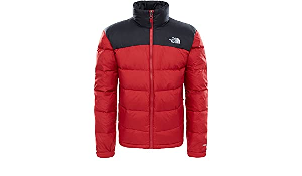 The North Face Nuptse 2 Giacca cardinal red: Amazon.it