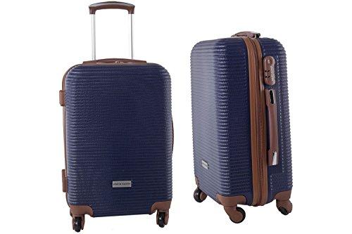 Maleta rígida PIERRE CARDIN azul mini equipaje de mano ryanair S184