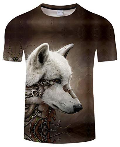 Luotears T-Shirt Anime Valley Herren Damen T-Shirt 3D Streatwear T-Shirt Schwarz Sommer Harajuku Top Kurzarm Dropship @ 6XL_Hongrui