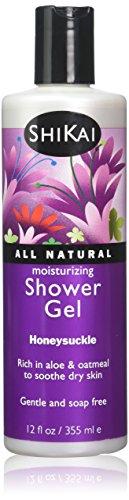 SHIKAI - Moisturizing Shower Gel Honeysuckle - 12 fl. oz. (355 ml)