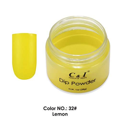 C & I plongée Powder couleur N ° 032 Lemon Jaune Couleur Système
