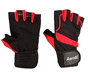 Aerofit A 416 Fitness Gloves, X-Large (Black)