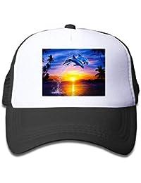 f0941141efeff Rundafuwu Cap Flat Along Gorras de béisbol Hat Trucker Cap Gorras de  béisbol Hats Kid s