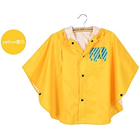 Zhuhaixmy Cute Boys Girl Raincoat Impermeabile Kids Rain Coat Suit Cape Rainwear indumenti impermeabili Cloak Poncho Hooded
