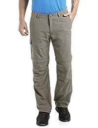 MAIER SPORTS Herren Zipp-Off Hose Trave aus 100% PA in 12 Größen, Funktionshose/ Outdoorhose/ Wanderhose, abzippbar und schnelltrocknend,