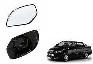Speedwav Car Rear View Side Mirror Glass RIGHT-Tata Indigo Manza