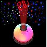 Zollyss Unique Magic Led Color Change Projection Projector Alarm Clock