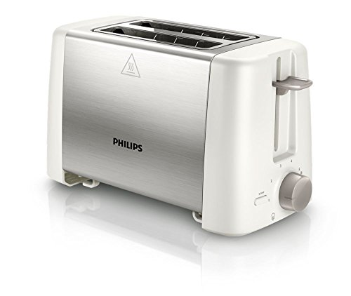 Philips Hd4825/01 800-watt 2-slot Toaster (white)