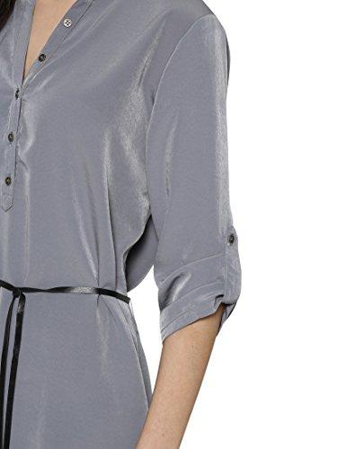 Berydale Damen Kleid Im Tunika-Style Grau (Grau)
