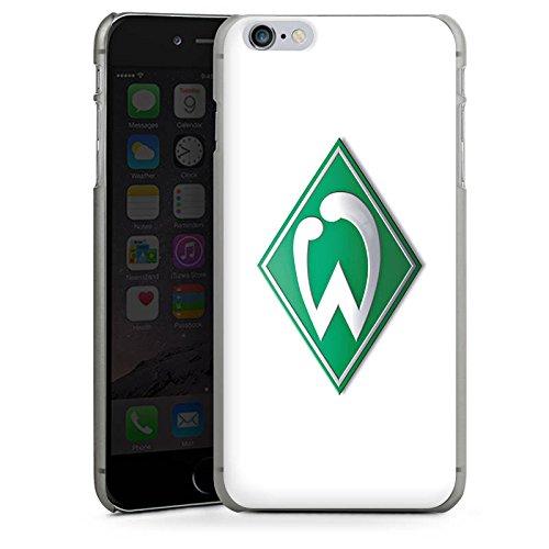 Apple iPhone 6s Silikon Hülle Case Schutzhülle Werder Bremen Fanartikel fußball Hard Case anthrazit-klar