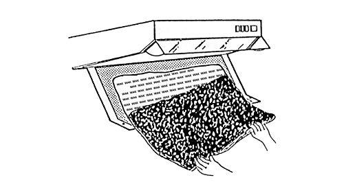 Fettfilter-set (Dunstabzugshaubenzubehör/Filter für Dunstabzugshaube/Aktivkohle- und Fettfilter Set/Universell/Zuschneidbar)