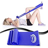 Tdas Theraband Resistance Bands- 1.5 Meters Thera Band, Exercise Band, Stretch Band for Exercise, Legs, Gym, Workout, Pull ups, - Light, Medium, Heavy, Resistance Loop Bands For Fitness, Butt, shoulder, Glutes, Yoga, Physical Therapy, Home exercise Training for Women, Men