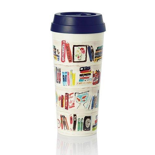 kate spade new york Thermal Mug - Bella Bookshelf by kate spade new york Kate Spade Belle