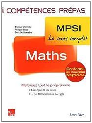 Mathématiques MPSI 1re année